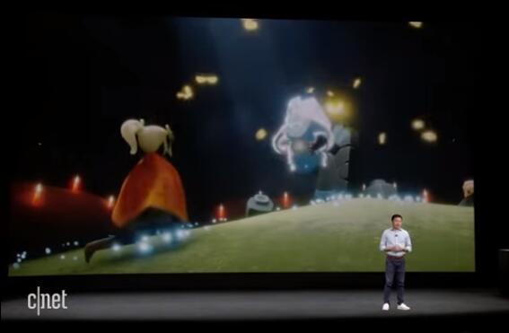 这两家游戏开发商昨天站上了乔布斯剧院的展示台 中国游戏正成为赢家