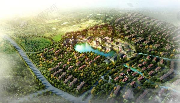 温塘西柏坡温泉养生休闲度假特色小镇