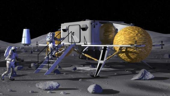 美国宇航员将重返月球 建立永久性月球基地