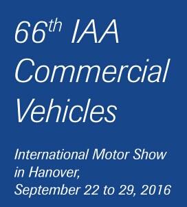 2018年德国汉诺威商用车及配件展(IAA)