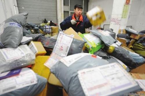 中国快递业务世界第一每天快递数量破亿件 网购用户已达5.16亿人