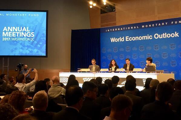 IMF对今明两年全球经济增长乐观 再次上调中国经济增长预期至6.8%