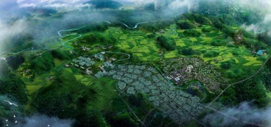 眉山生态酿造产业田园特色小镇