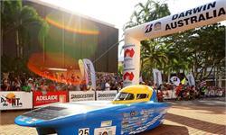 太阳能汽车挑战赛如期召开,太阳能汽车发展加速