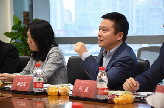 海航科技董事、天海投资副董事长兼首席执行官桂海鸿发言