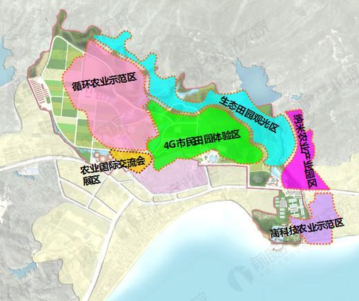 深圳大鹏现代都市田园综合体案例