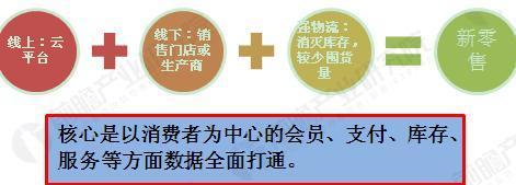 图表1:马云平台电商的全渠道模式