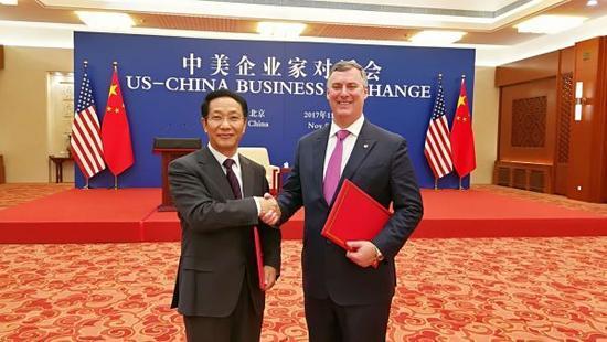 中美签90亿大单只是暖场 两国企业签2535亿美元经贸大单创造奇迹