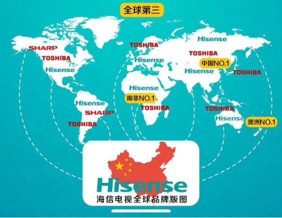 海信电器宣布129亿日元收购东芝电视 将提升海信电视日本市场影响力