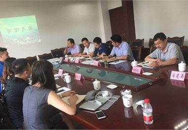 前瞻产业研究院与庐山县政府就根雕小镇进行探讨