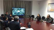 前瞻产业研究院专家与航天十院领导就田园综合体项目考察探讨