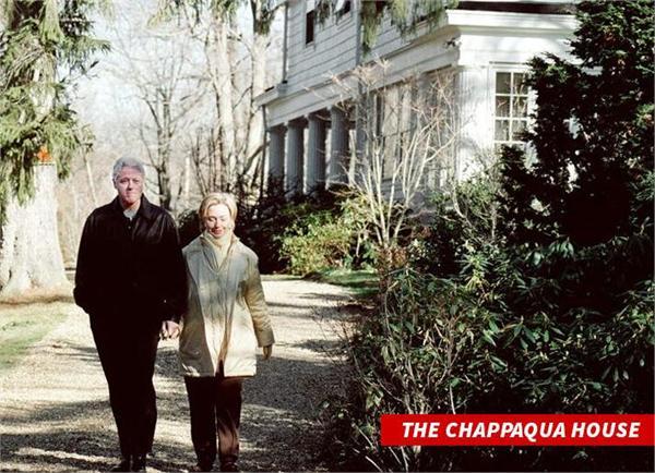 克林顿家中着火