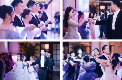 10位嘉宾集体跳舞图