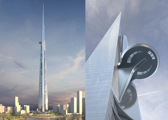迪拜建世界最高塔