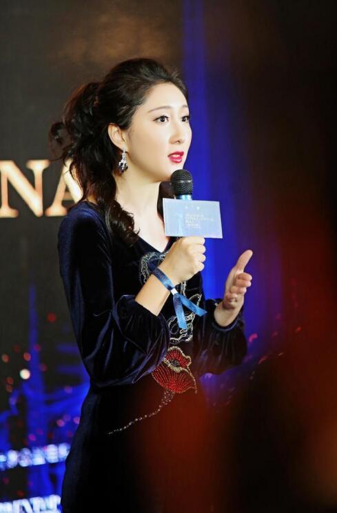 卡枚连创始人范玥婷女士讲话