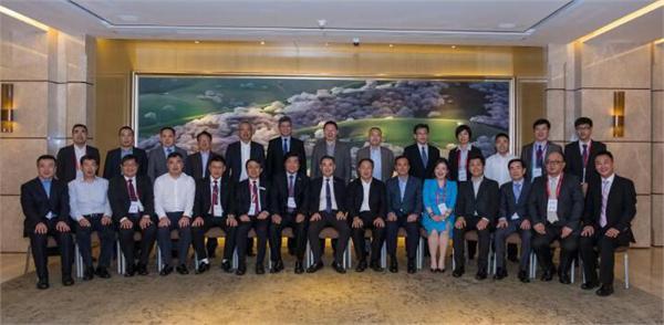 2017中国(国际)显示产业领袖峰会合影留念