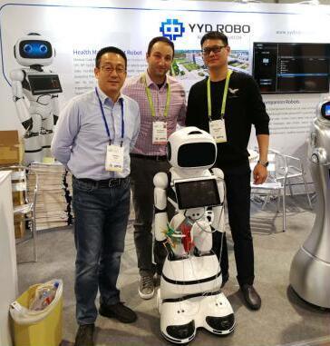 勇艺达机器人亮相CES2018