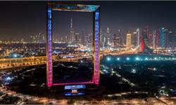 """壕!迪拜3亿造新地标""""迪拜之框""""惹争议 只需90元就能一览全城美景"""