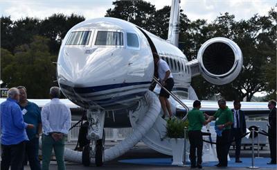 """中国富豪买私人飞机最爱""""湾流"""""""