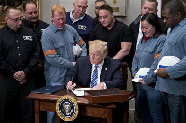 特朗普签署关税法令