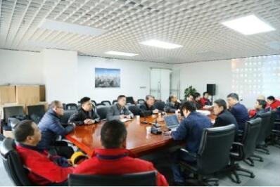 远东电缆技术研发团队进行吊装电缆敷设培训