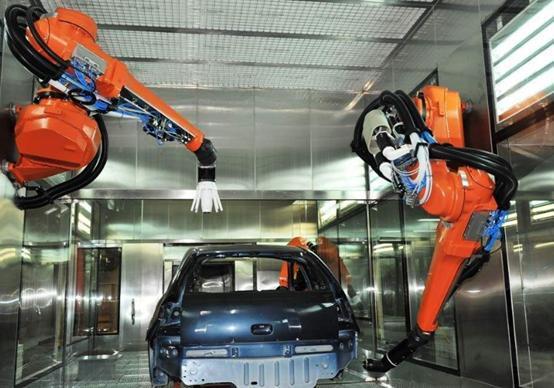 2018年中国喷涂行业发展趋势分析,喷涂机器人将成为涂装行业主流