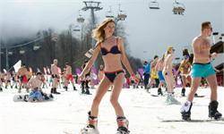 抗冻!<em>俄罗斯</em>1800人泳装滑雪欲破世界纪录 网友:吓得我赶紧加条秋裤