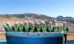 土核电站破土动工!由<em>俄罗斯</em>Rosatom负责建造 计划2023年发电