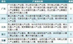 重磅!2018年中国65家机器人产业园布局与规划汇总盘点【组图】(附各机器人产业园发展现状及规划目标)