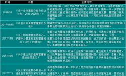 2017年国家及各省市医改及<em>医疗机构</em>最新政策汇总及解读【组图】