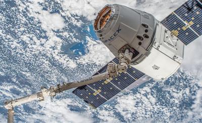 SpaceX飞船返航 带回2吨太空实验样品