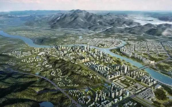 河源江东新区