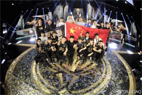 RNG获MSI世界赛冠军 中国电竞预计今年收入达1.64亿美元