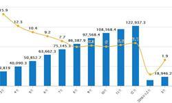 2月<em>铁矿石</em>进口量为8427万吨 同比增长0.9%