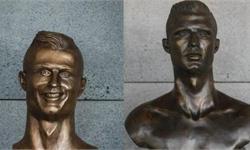 魔性十足!C罗机场铜像被换 居然有人请愿换回旧尊:新的接受不了