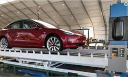 首辆性能版Model 3装配完成!马斯克推特放话:3周之后特斯拉空头就会爆仓
