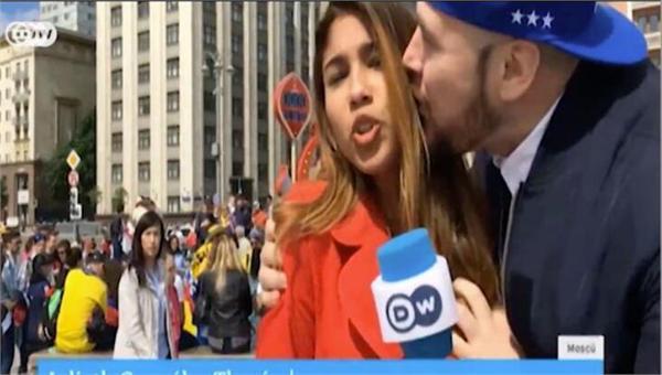 直播世界杯遭强吻