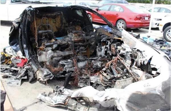 特斯拉佛州致命车祸调查报告 涉事Model S电池曾两次起火