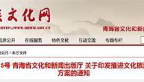 青海省文化旅游产业政策