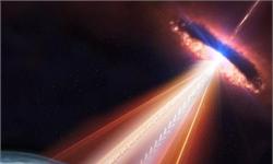 天文学家追踪撞击地球高能粒子来源 疑似来自40亿光年外一个黑洞