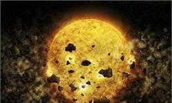 """天文学上壮观一幕!450光年外一颗初生恒星正在""""吞噬""""行星"""