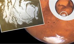 """重磅!火星发现液态水湖 冰川下竟""""藏""""直径20公里大面积极寒浓盐水体"""