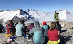人类影响地球气候的确凿证据:看看阿拉斯加的冰原70年来的变化