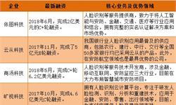 2018年中国人脸识别行业竞争分析 三大阵营持续加码【组图】