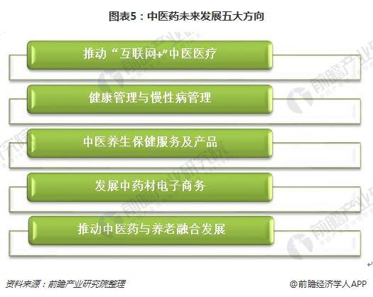 图表5:中医药未来发展五大方向