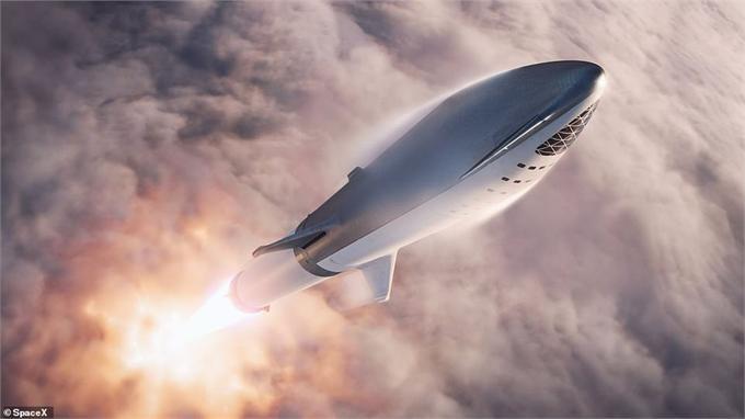 SpaceX绕月旅行首名乘客曝光!神秘富豪竟来自日本