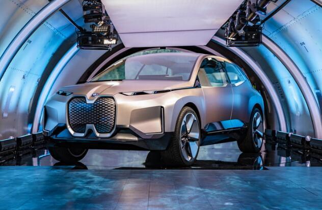 宝马纯电动概念车Vision iNext亮相 2021年实现4级自动驾驶