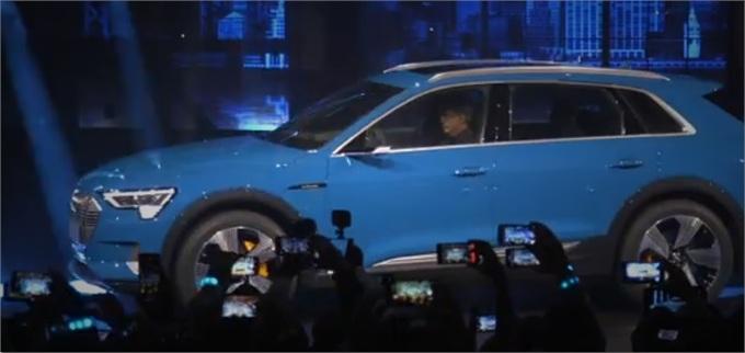强强联合!奥迪推出电动豪华SUV 与亚马逊合作销售配套充电系统