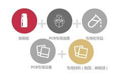 2018年PCB五大上游市场竞争现状分析——覆铜板、油墨、专用设备、专用材料、专用化学品TOP5企业汇总