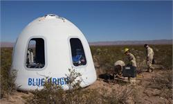"""太空竞赛进入白热化?贝索斯确认""""蓝色起源""""将于明年进行载人飞行"""